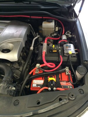 Dual Battery Install Complete! | IH8MUD Forum