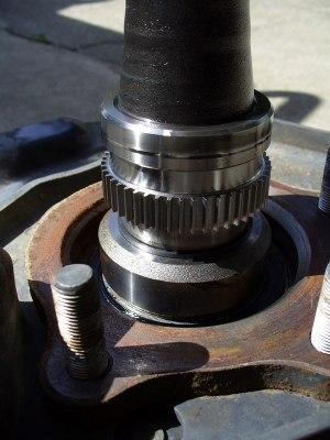 Rear axle bearings pics   IH8MUD Forum