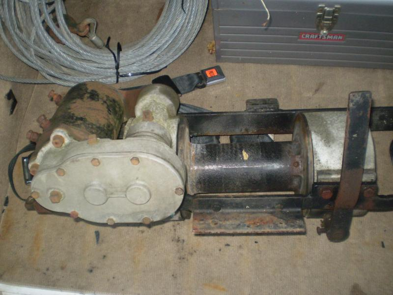 Wiring Diagram For A Ramsey Winch : Old ramsey winch wiring diagram