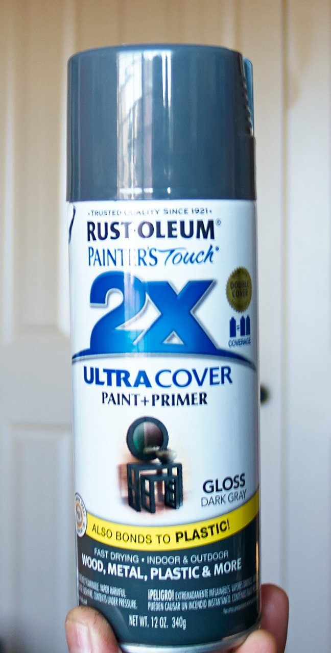 Silver Oleum Touch Painters Rust Can