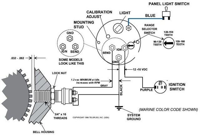 FZJ80 To HZJ80 Conversion Tach Wiring Problem.