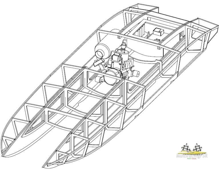 Catamaran Power Plans Hull