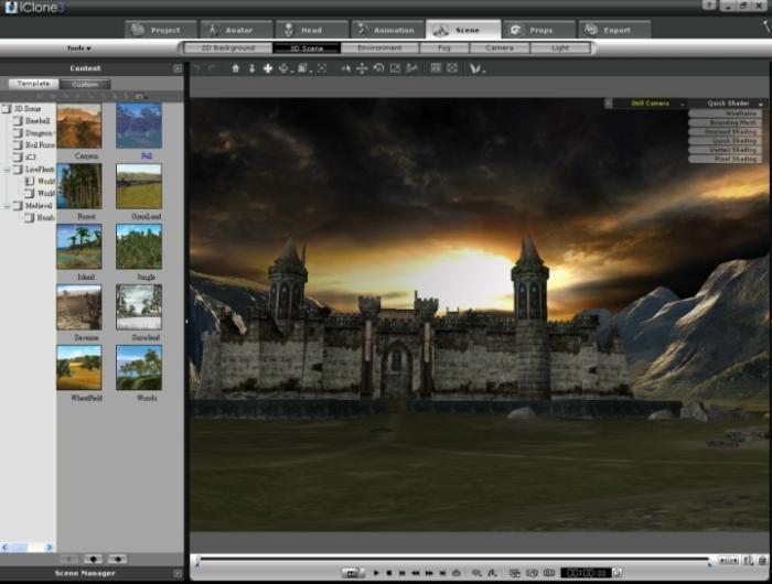 iclone 3 screenshot