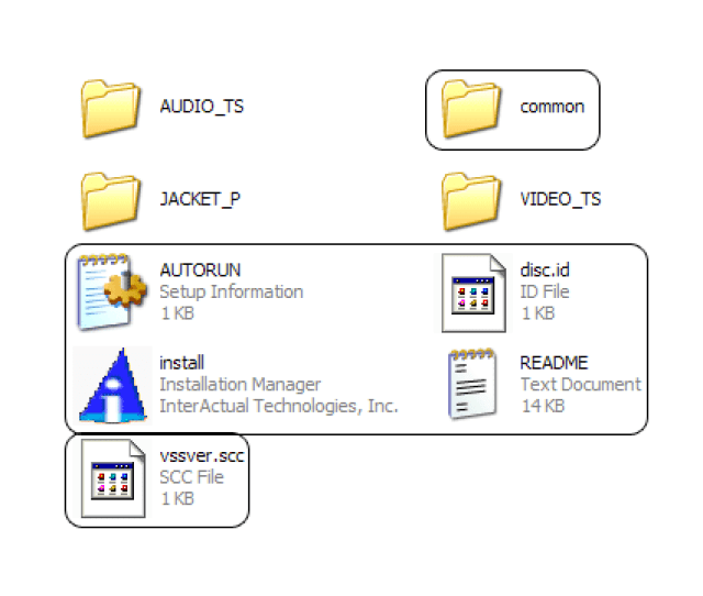 Image Showing The Main Contents Of The Directory Id Like To Be Completely Sure Before I Use A Dl Disc The Following Marked Files Will Be Removed