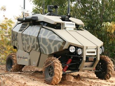 Увеличить Израильские разработчики выпустили нового робота на патрулирование границ   - роботы,