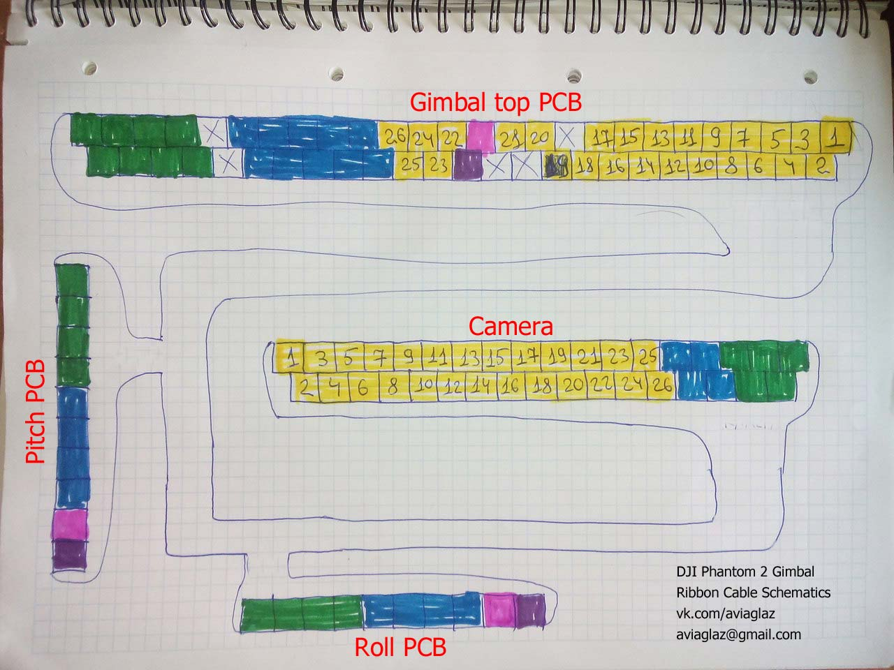 2 Dji Phantom Wiring Diagram Library Vision