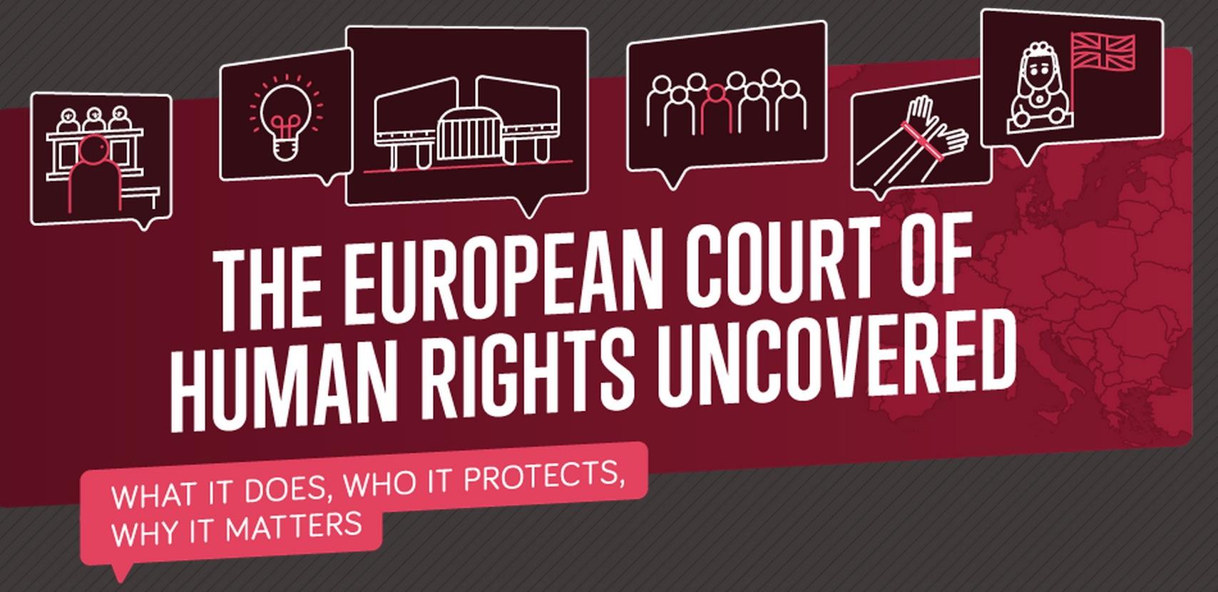 Nouvelle infographie sur la Cour européenne des droits de l'homme