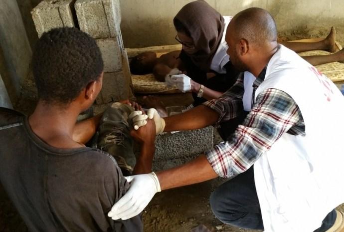 Pour MSF le monde est sourd à la souffrance des migrants en Libye
