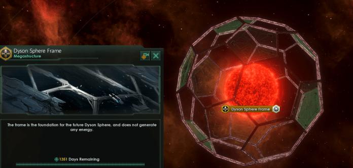 Dyson Sphere em Stellaris
