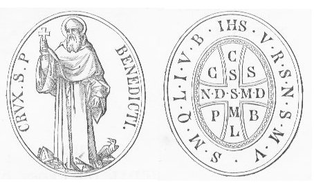 Medalik św. Benedykta - Tradycyjny