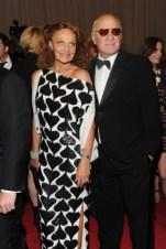 Diane von Furstenberg with Barry Diller.