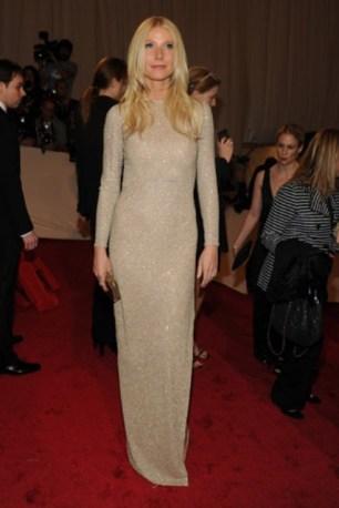 Gwyneth Paltrow, in Stella McCartney, with Fred Leighton jewels.