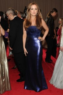 Isla Fisher, in Tory Burch, with House of Lavande jewels.
