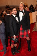 Marc Jacobs with Robert Duffy.