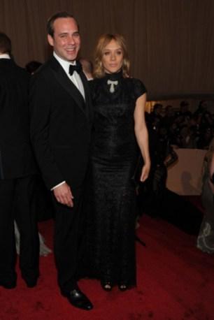 Paul Sevigny with Chloë Sevigny.