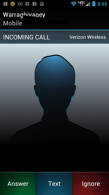 Issue w new ICS 'incoming call' answer-screen? - Android ...