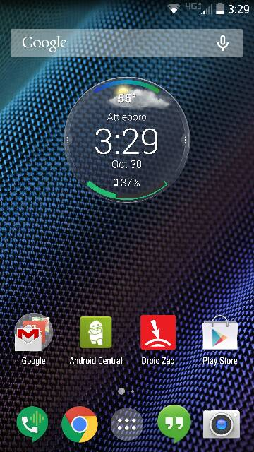 Android App Home Screen Ideas