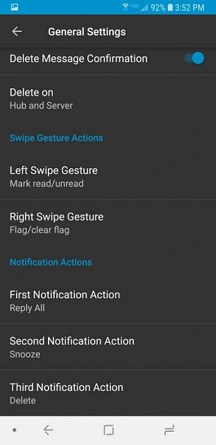 How do i stop Note 8 deleting emails from server when deleted on phone? - Android Forums at AndroidCentral.com