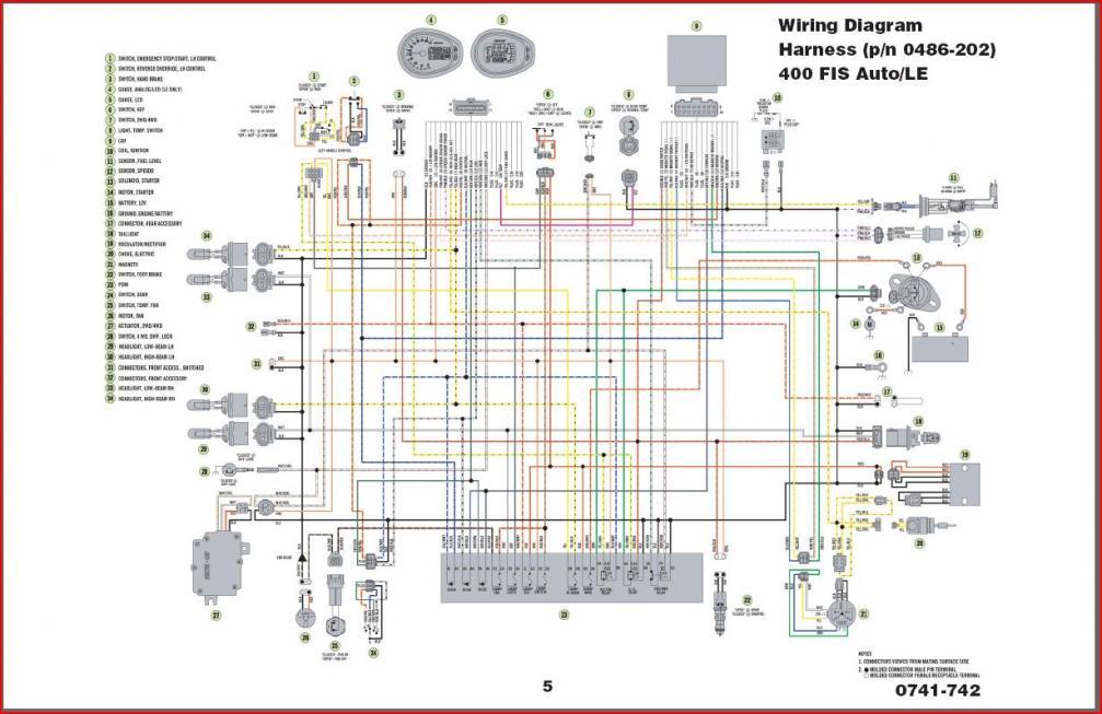 arctic cat 400 4x4 wiring diagram  | 2998 x 1977