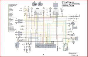 2004 Arctic Cat 400 wiring diagram  ATVConnection ATV