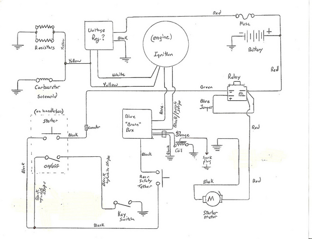 wiring diagram for chinese 110cc atv  u2013 powerking co