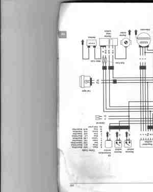 trx300 wiring diagram needed  ATVConnection ATV