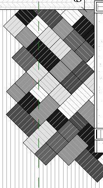 model friendly carpet layout pattern