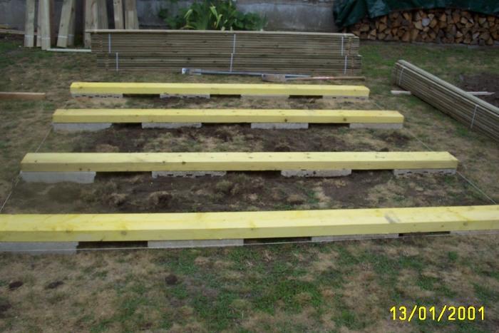 monter un abri de jardin sans dalle de