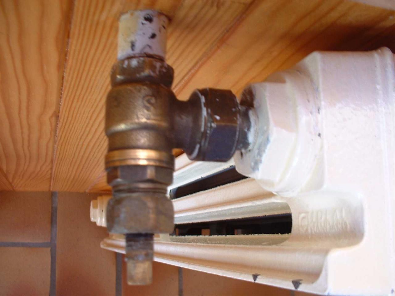 remplacement robinet par robinet