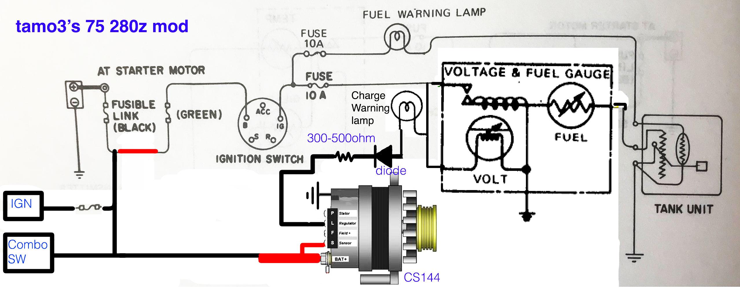 1100700 Delco Alternator Wiring Diagram Online Wiring Diagram