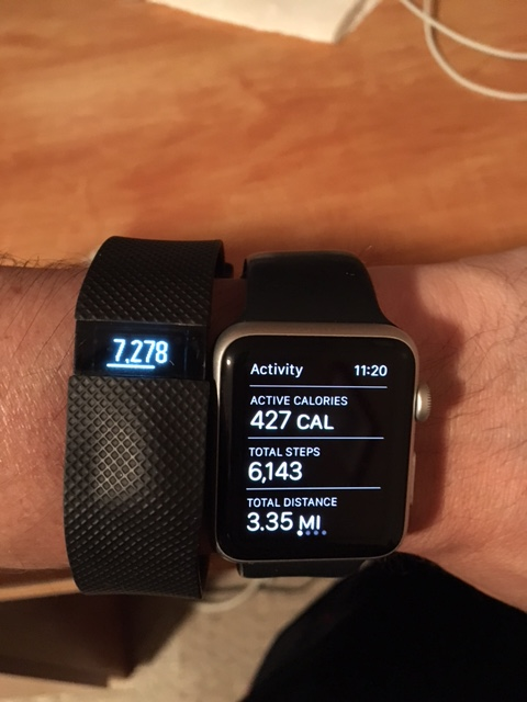Apple Watch Vs Fitbit Charge HR Step Counts Off IPhone IPad IPod Forums At