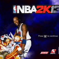 Welcome To The SPACE JAM....through a NBA 2K13 PC Mod