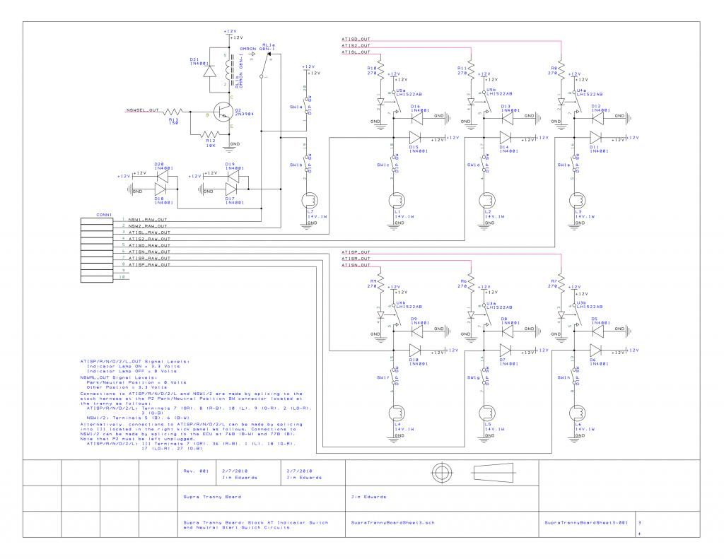 Project Automatic Transmission Interface Board Part 1 Of 3