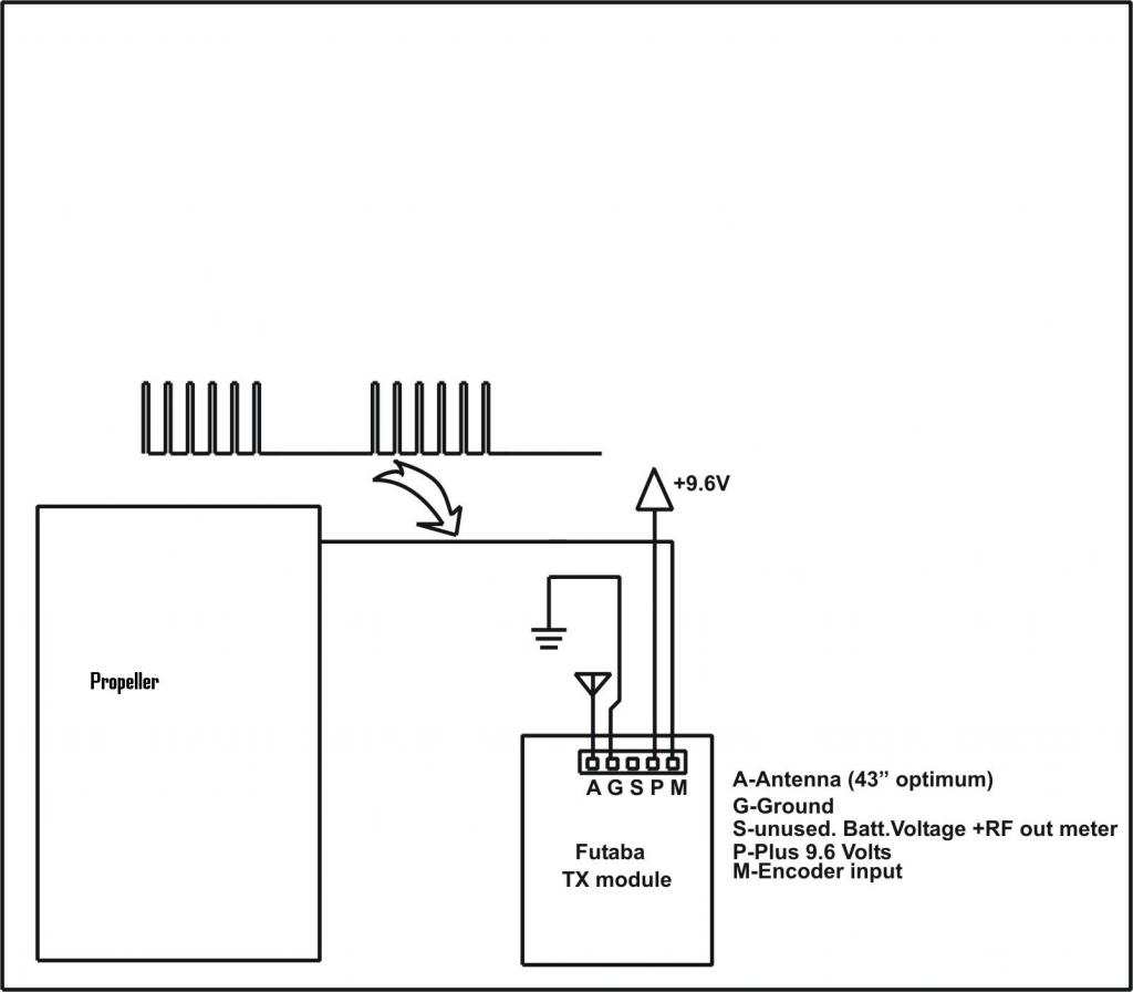 Ppm Protocol Rc Tranmitter Module Control
