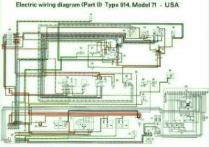 914 Color Coded Electrical Wiring Diagrams 19701973