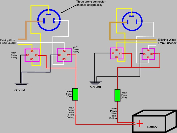 Draft Headlight H4 Relay Article -- Comments, Critique