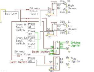 Headlight relay wiring on early 911  Pelican Parts Forums