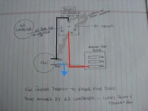 Rear Condenser Fan WiringRelay Help  Pelican Parts Forums