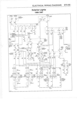 Help: Wiring diagram for a 1986 911 Carrera  Pelican