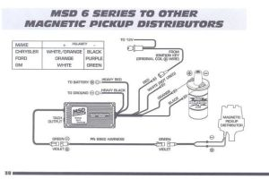 connecting MSD 6AL to onewire '87 930 distributor?  Pelican Parts Forums