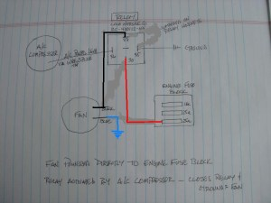 Condenser Fan Relay wiring  Pelican Parts Forums
