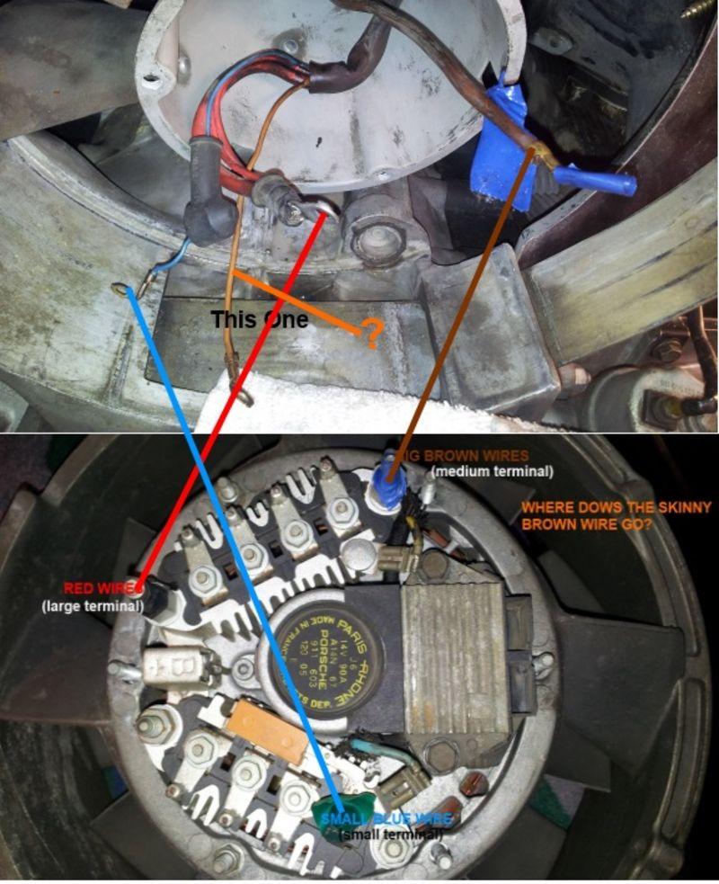 84 3 2l Alternator Wiring Help Needed