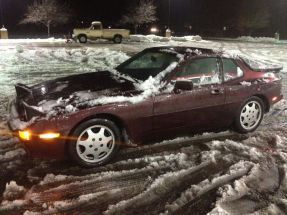 Image result for 944 in snow