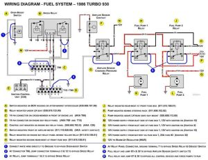 1979 930 (Euro) Fuel Pump Relay wiring issue  Pelican