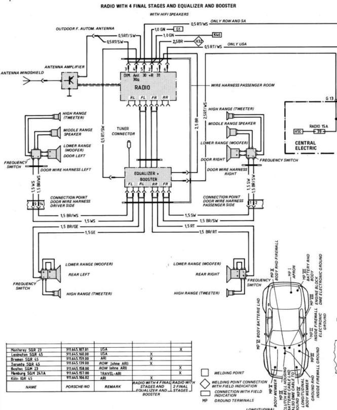 84 porsche 944 headlight wiring diagram