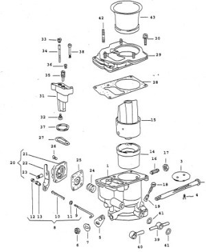 Solex carburetor (solex 44 pa1 tuning)
