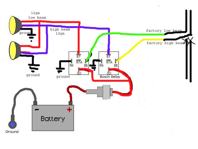 RelayDiaBell1158559875?resize=640%2C480 wiring tips using relays offroaders readingrat net bosch relay wiring diagram fog lights at gsmx.co