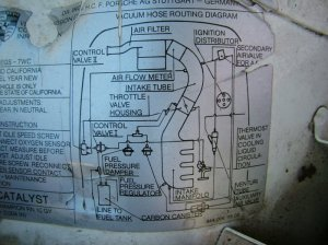Vacuum diagram>early 85' 944  Rennlist  Porsche