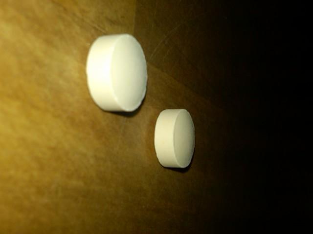 Small Round White Pill No Markings