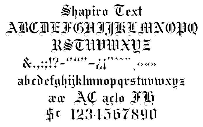 Shapiro-Text